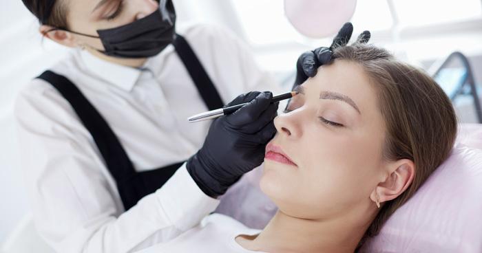 Déroulement prestation maquillage permanent